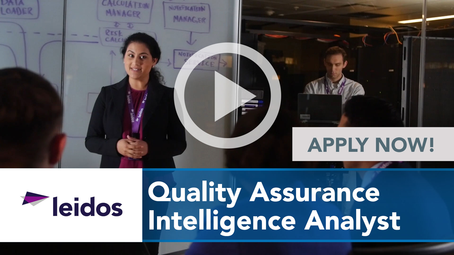Watch our careers video for available job opening Quality Assurance Intelligence Analyst in National Capital Region with