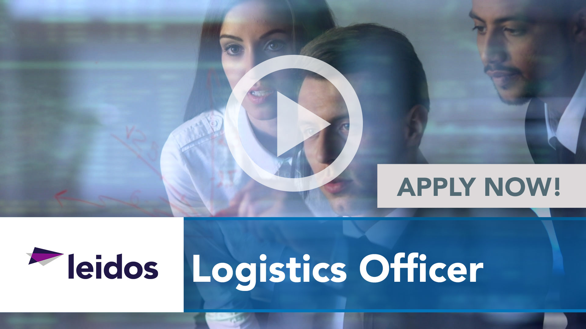 Watch our careers video for available job opening Logistics Officer in National Capital Region with
