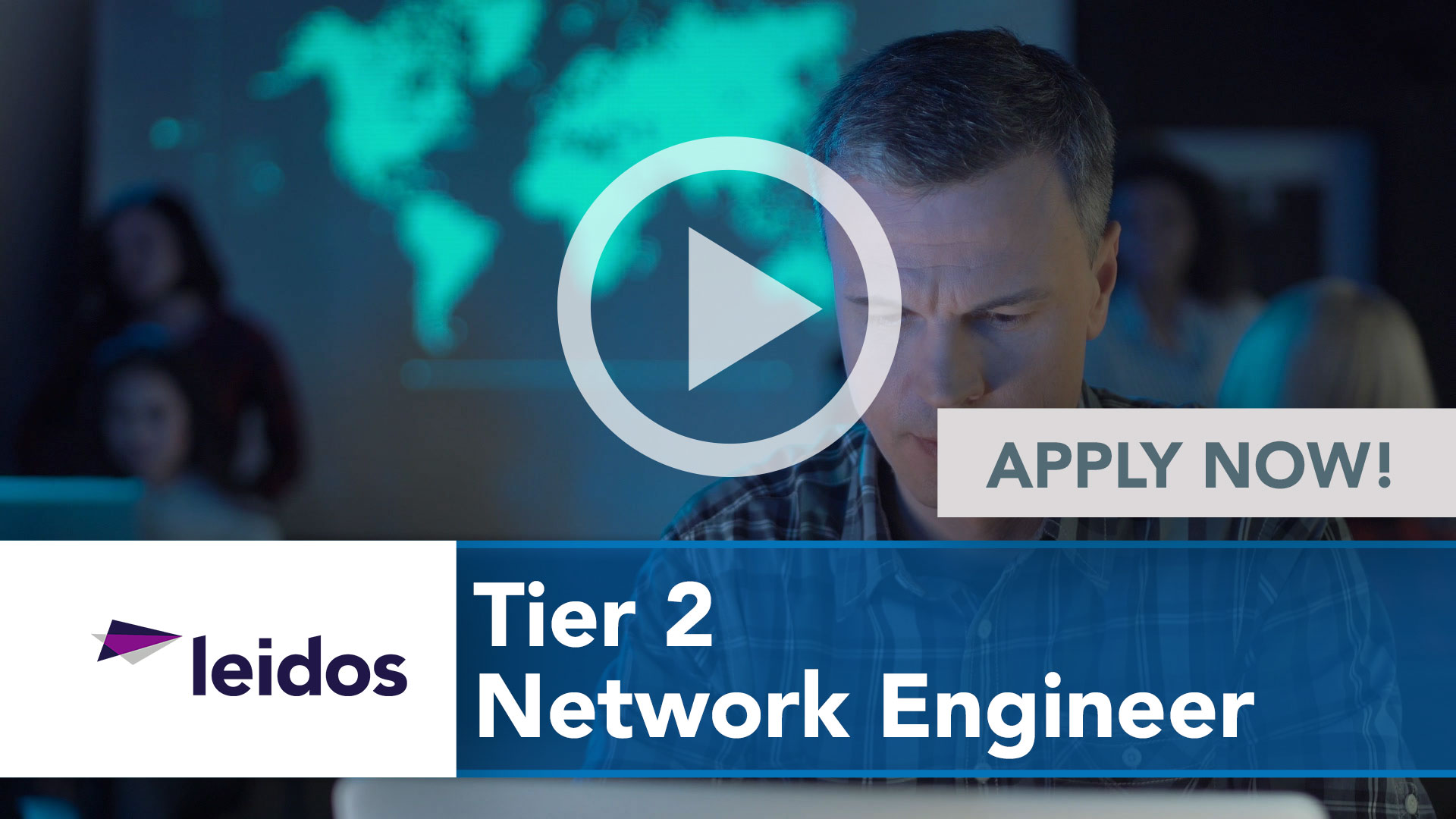 Watch our careers video for available job opening Tier 2 Network Engineer in National Capital Region with