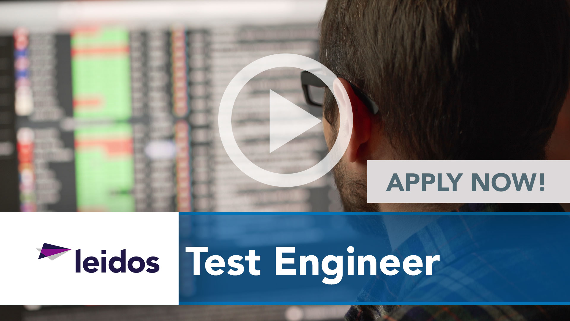 Watch our careers video for available job opening Test Engineer in National Capital Region with