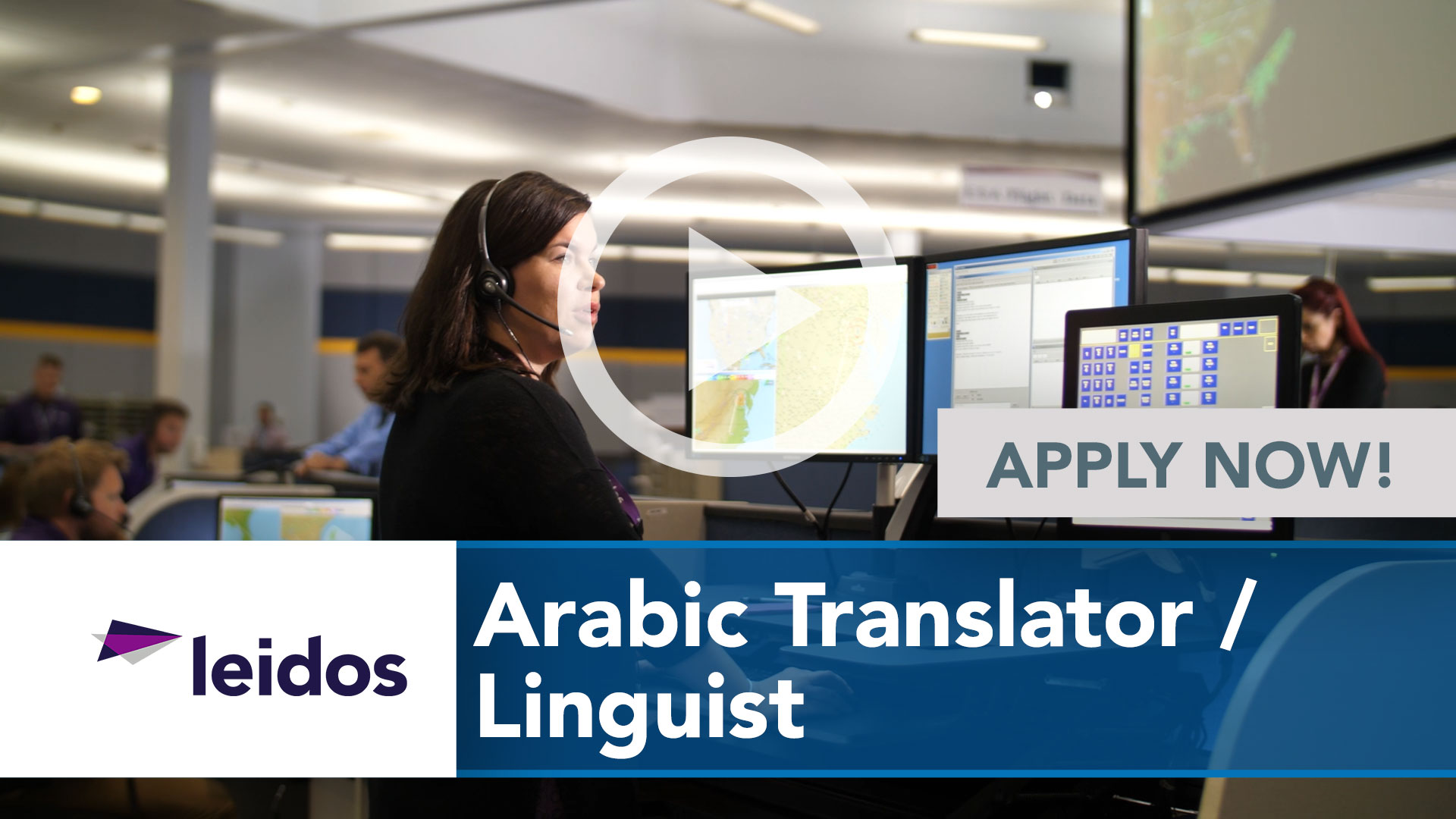 Watch our careers video for available job opening Arabic Translator _ Linguist in National Capital Region with