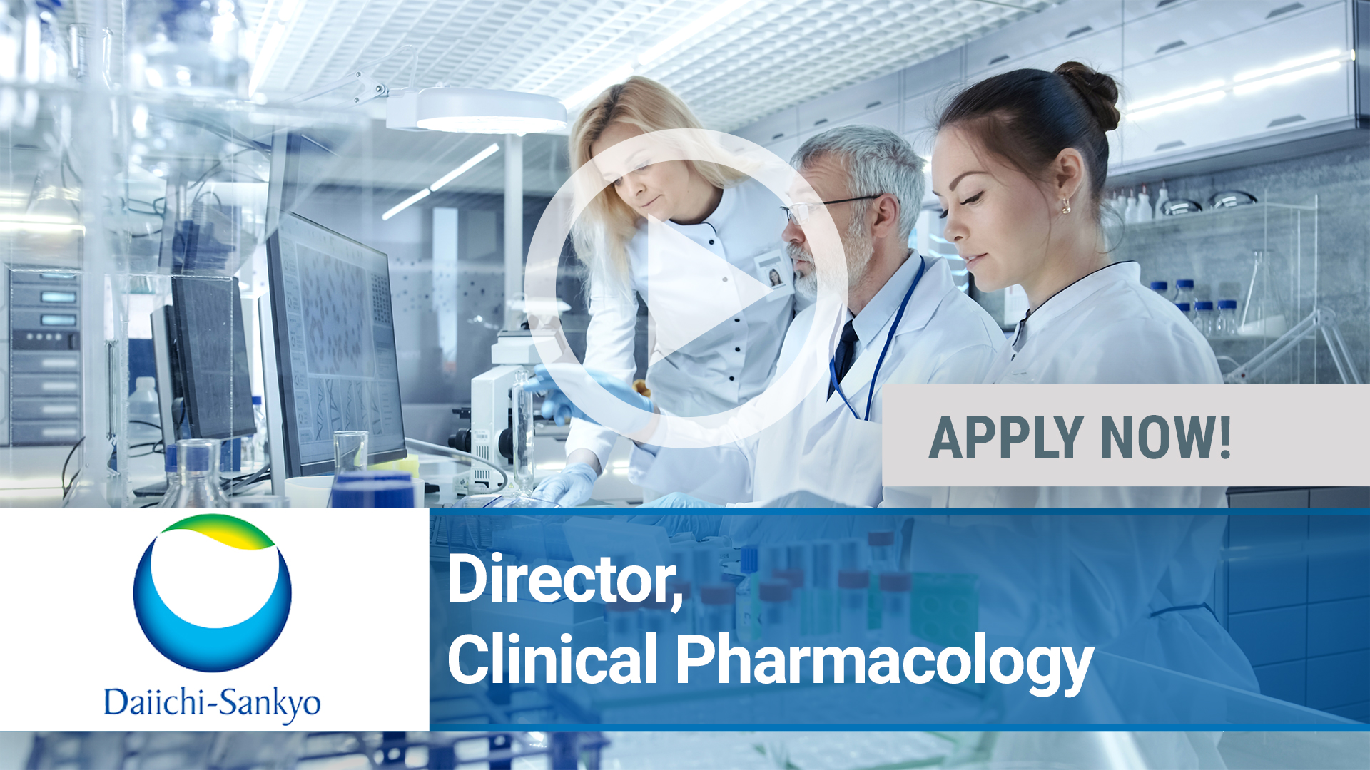 Director, Clinical Pharmacology Job Available   Daiichi ...