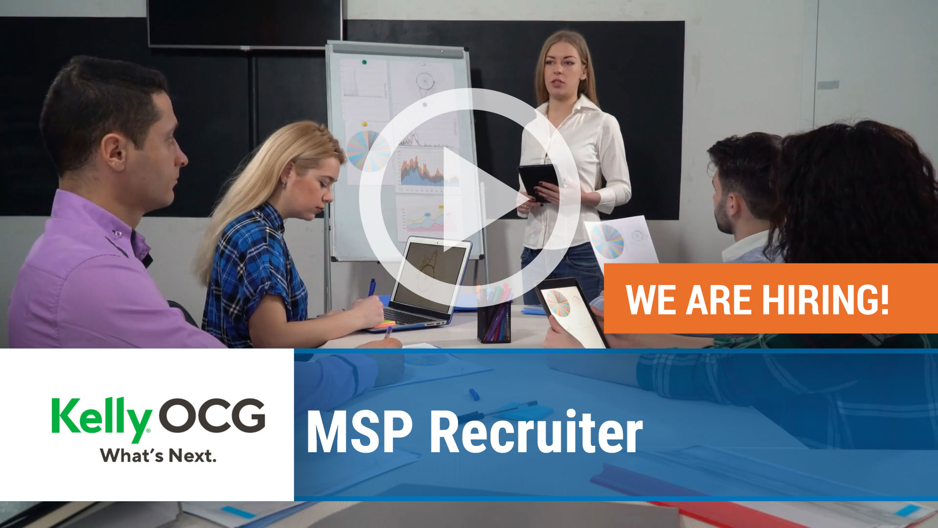 Watch our careers video for available job opening MSP Specialist – Staffing in Virtual , Virtual