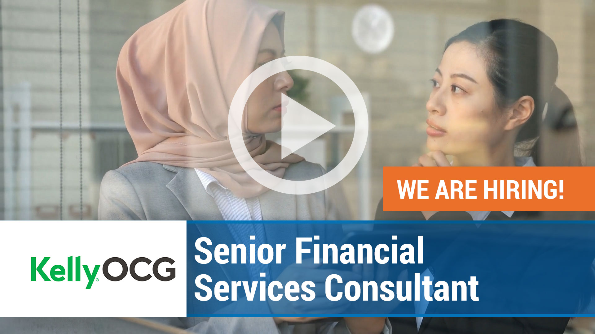 Watch our careers video for available job opening Senior Financial Services Consultant in Malaysia