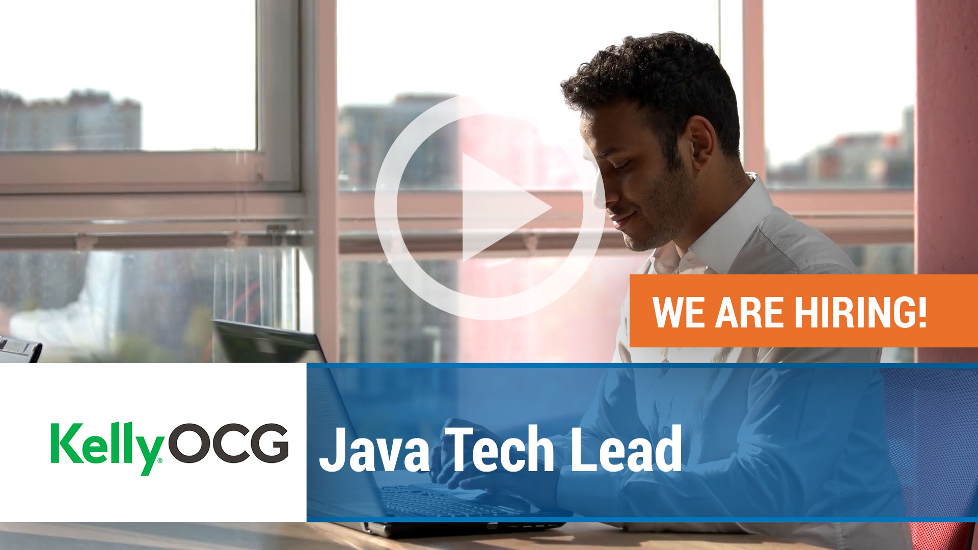 Watch our careers video for available job opening Java Tech Lead in India