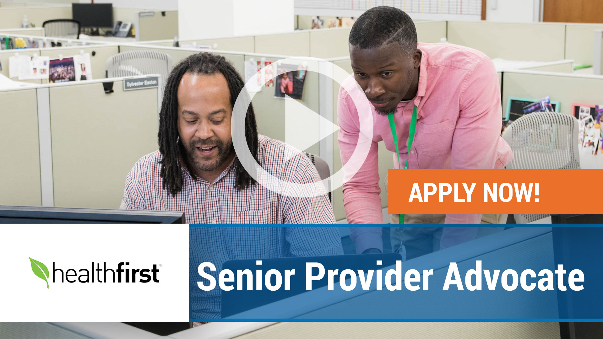 Watch our careers video for available job opening Senior Provider Advocate in New York,NY. USA