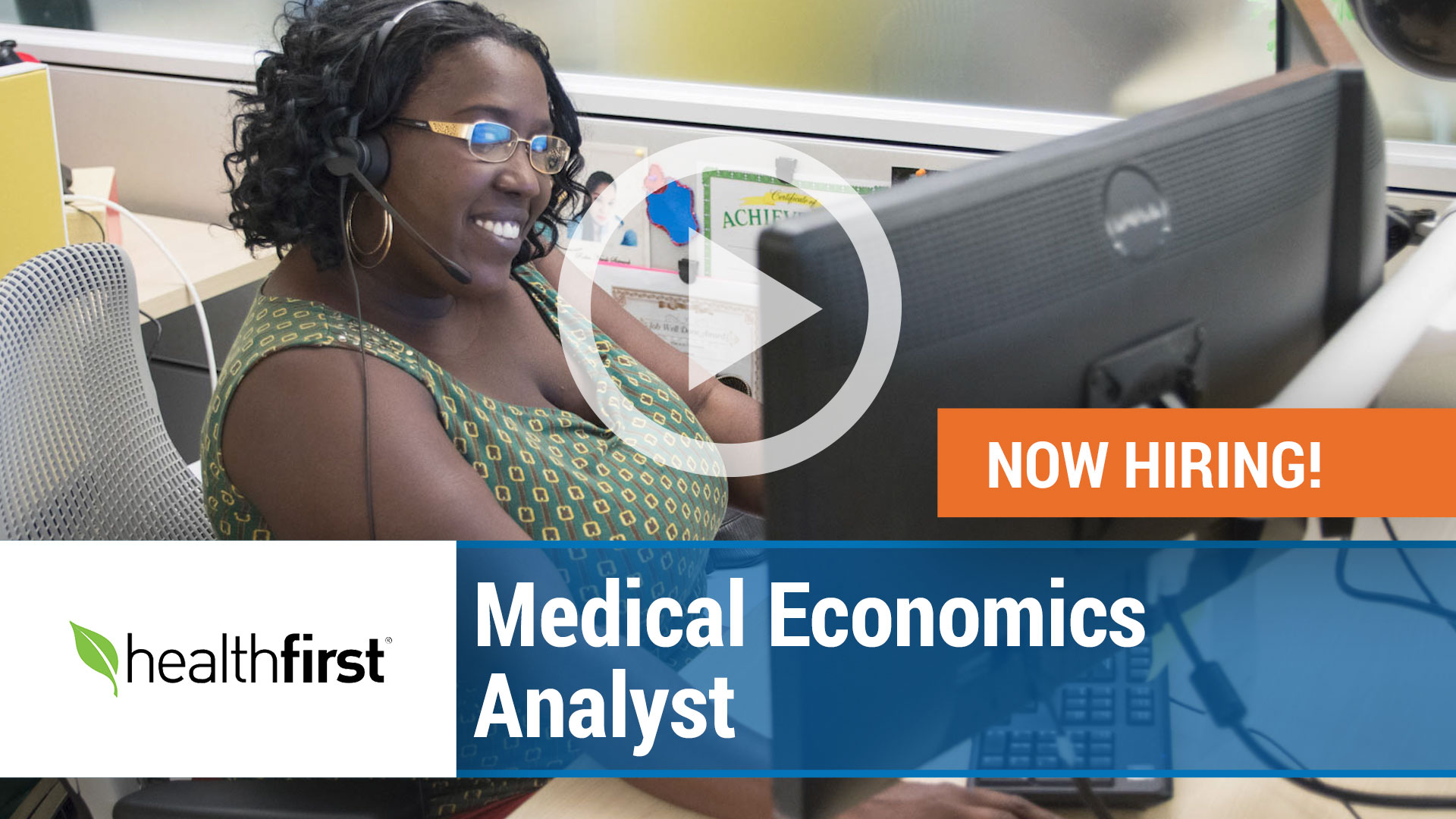 Watch our careers video for available job opening Medical Economics Analyst in New York, NY, USA