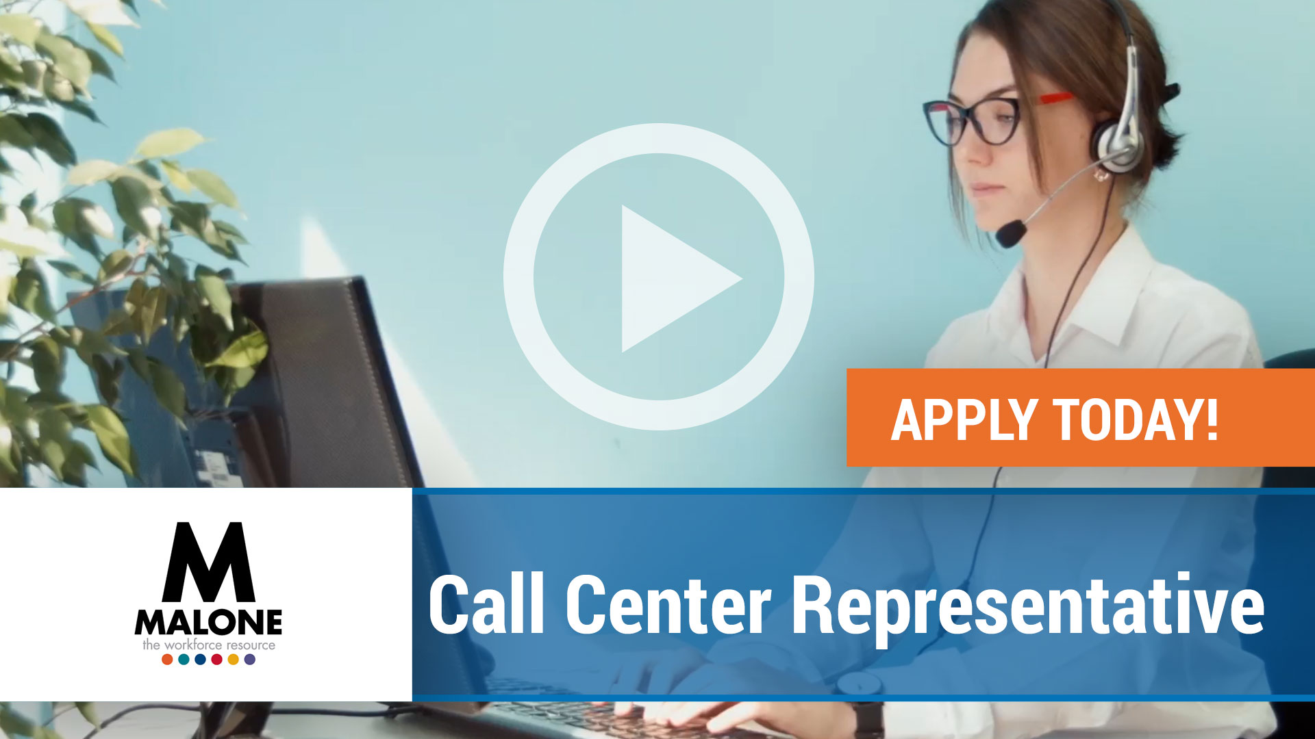 Watch our careers video for available job opening Call Center Representative in Brooks, Kentucky