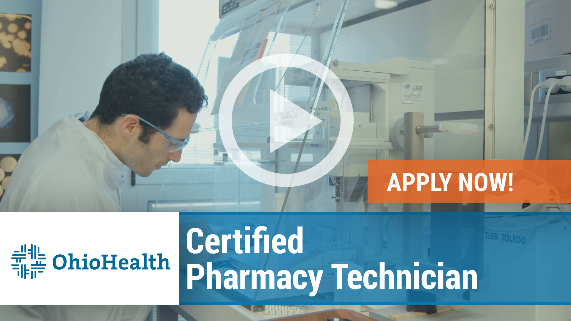 Watch our careers video for available job opening Certified Pharmacy Technician in Columbus, Ohio