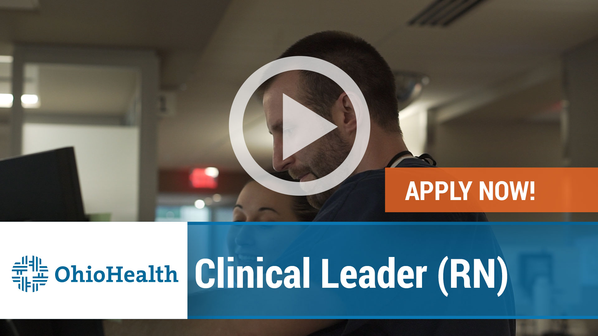 Watch our careers video for available job opening Clinical Leader - RN in Mansfield, Ohio