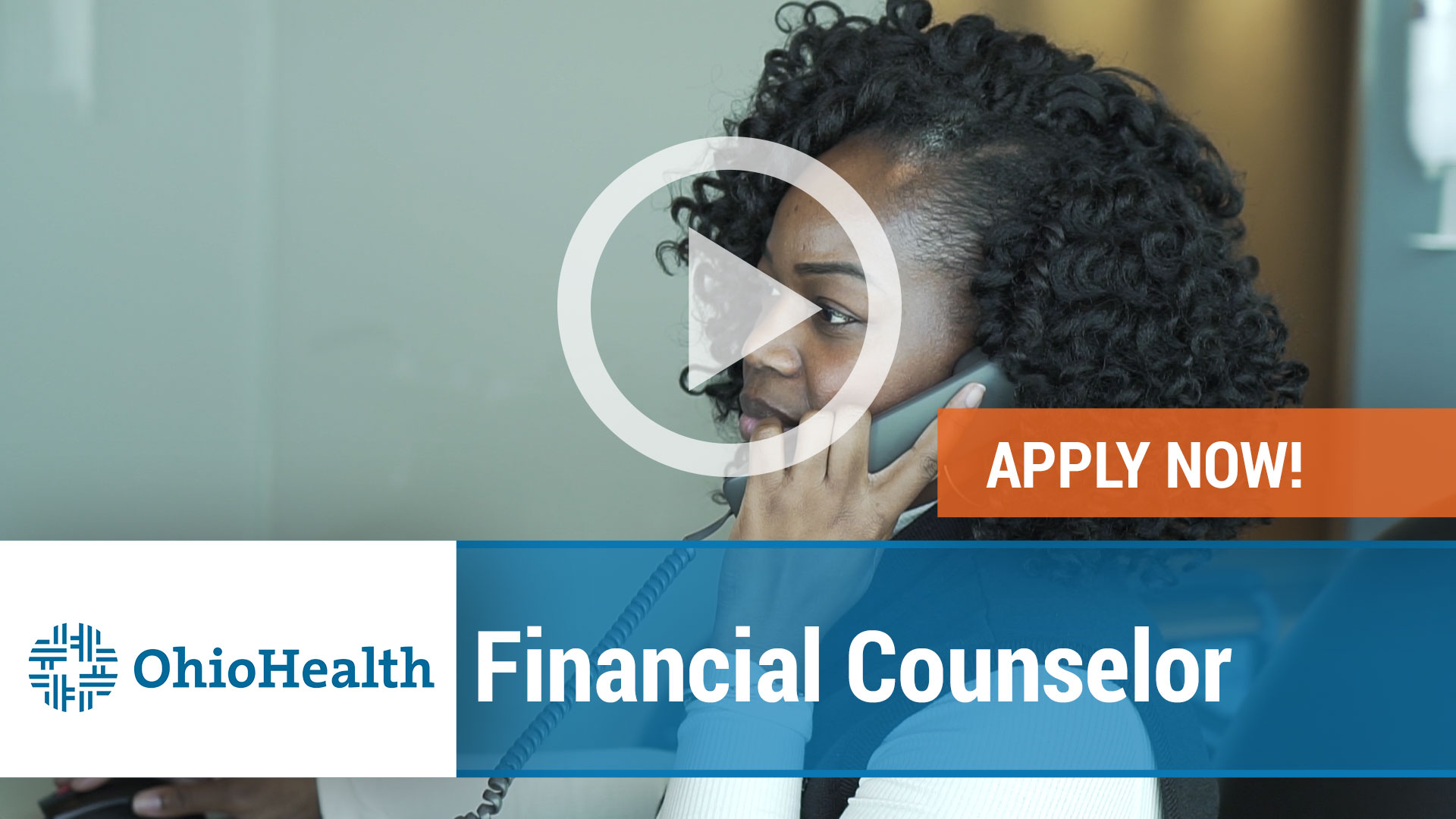 Watch our careers video for available job opening Financial Counselor in Columbus, Ohio