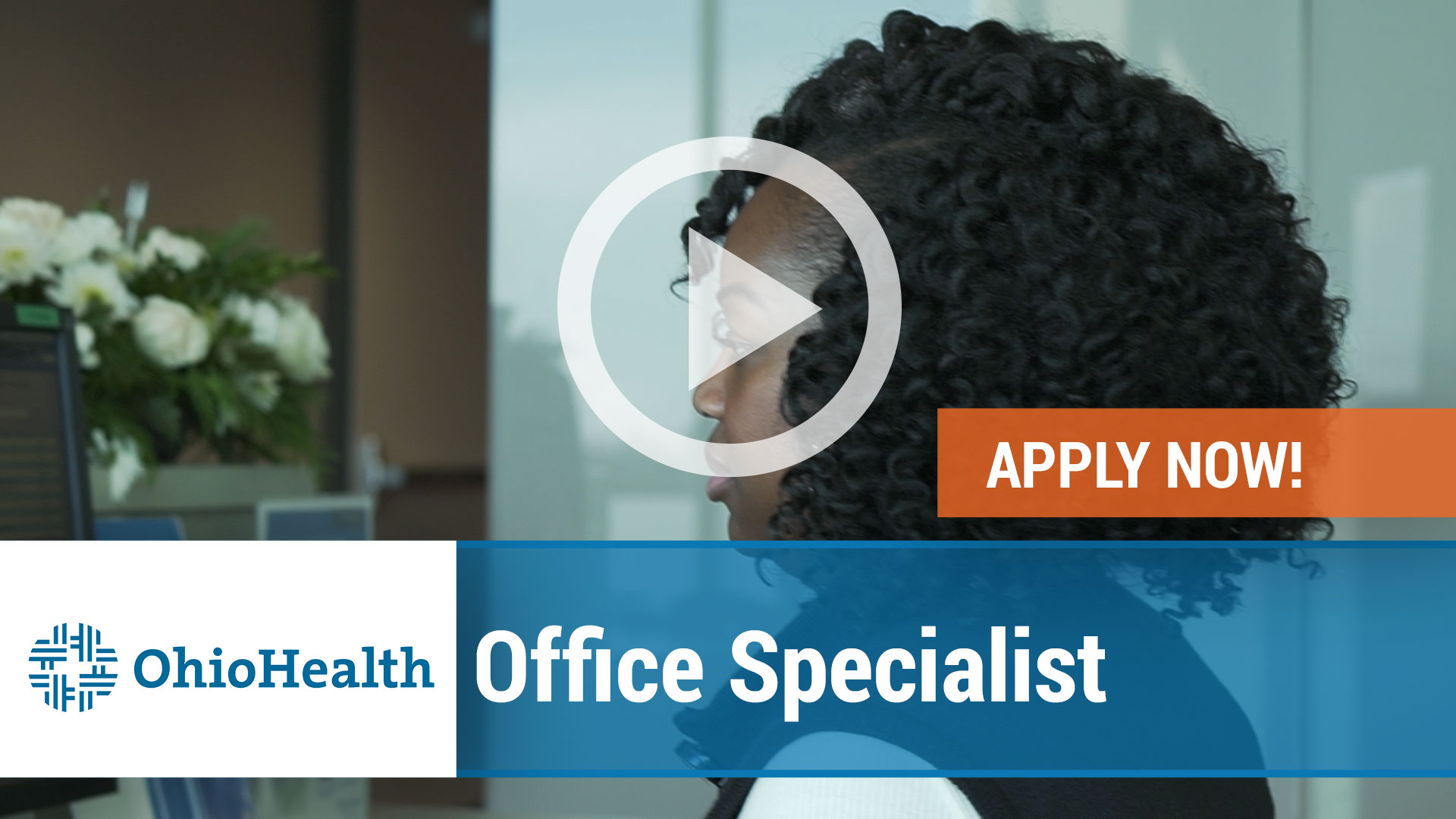 Watch our careers video for available job opening Office Specialist in Columbus, Ohio