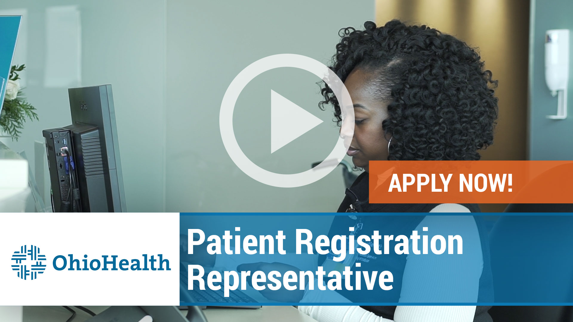 Watch our careers video for available job opening Patient Registration Representative in Marion, Ohio