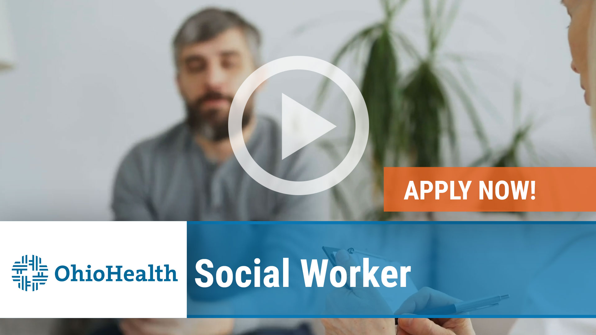 Watch our careers video for available job opening Social Worker in Columbus, Ohio