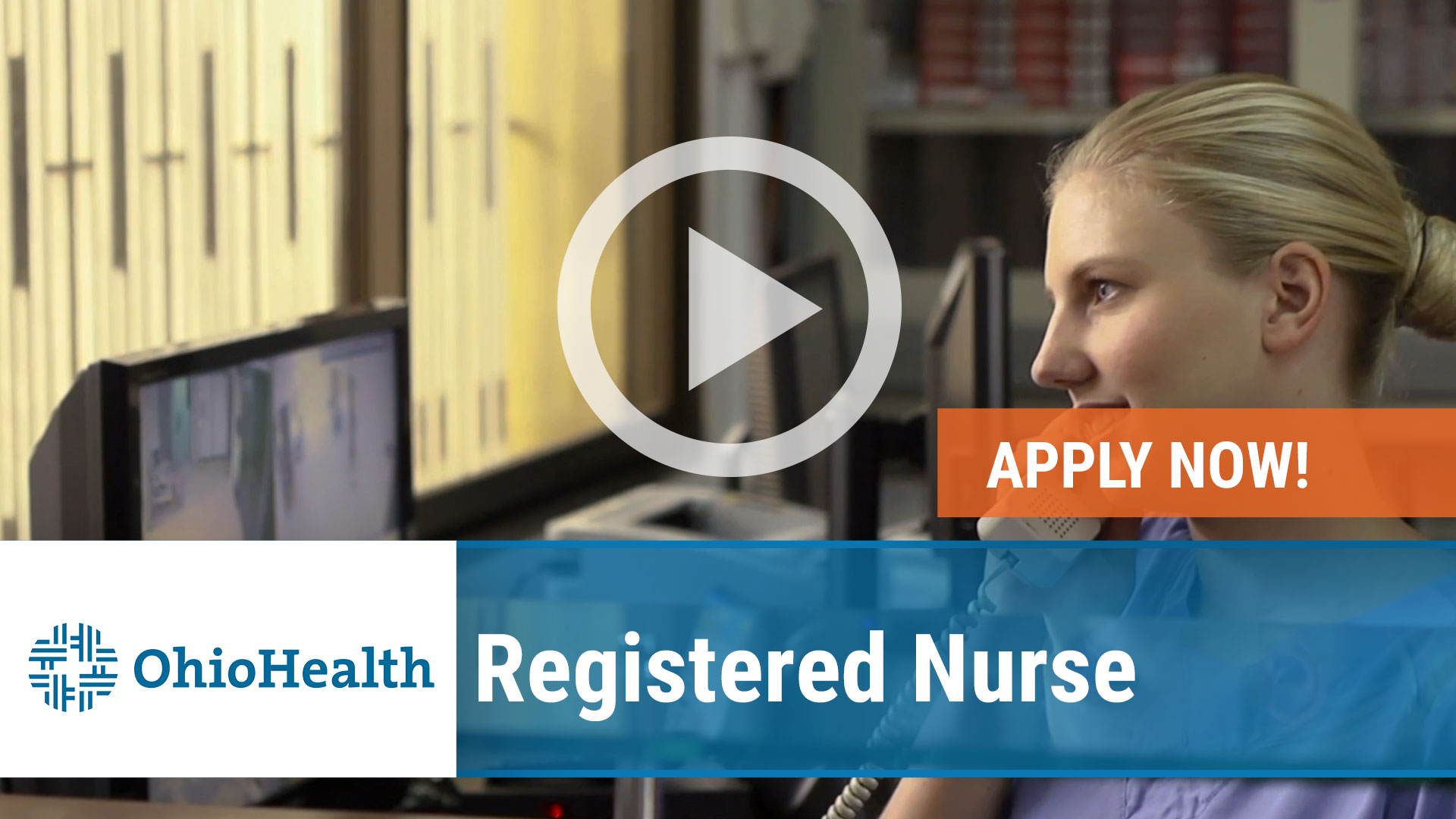 Watch our careers video for available job opening Registered Nurse in Mansfield, Ohio