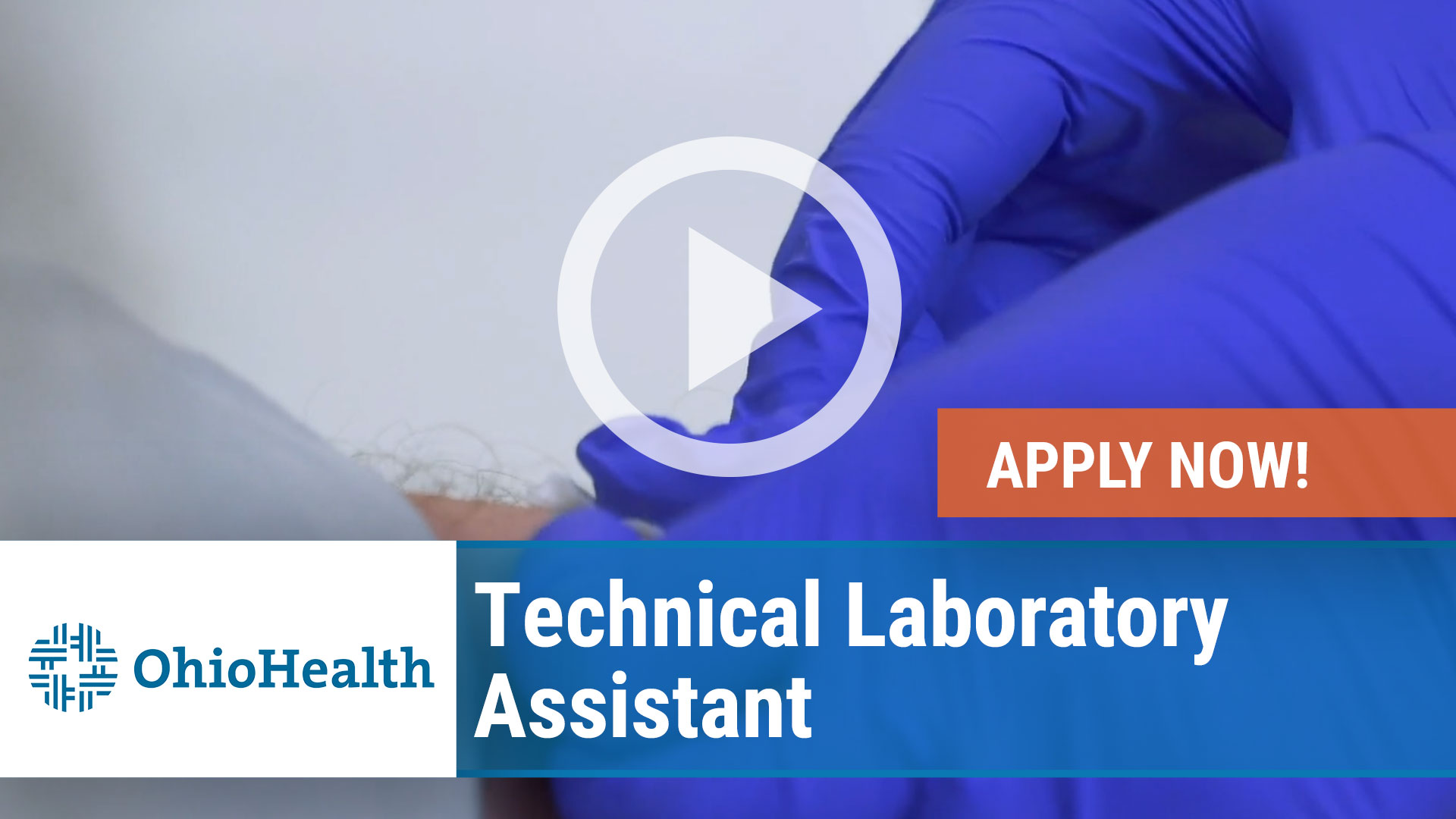 Watch our careers video for available job opening Technical Laboratory Assistant in Mansfield, Ohio