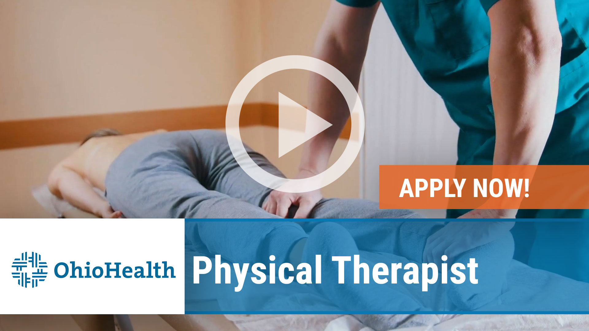 Watch our careers video for available job opening Physical Therapist in Dublin, Ohio