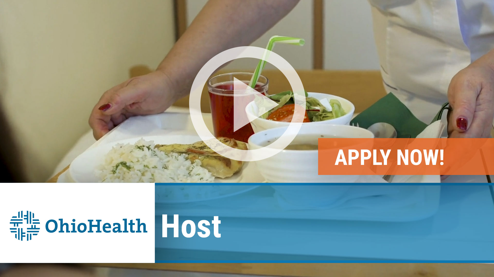 Watch our careers video for available job opening Host in Mansfield, Ohio