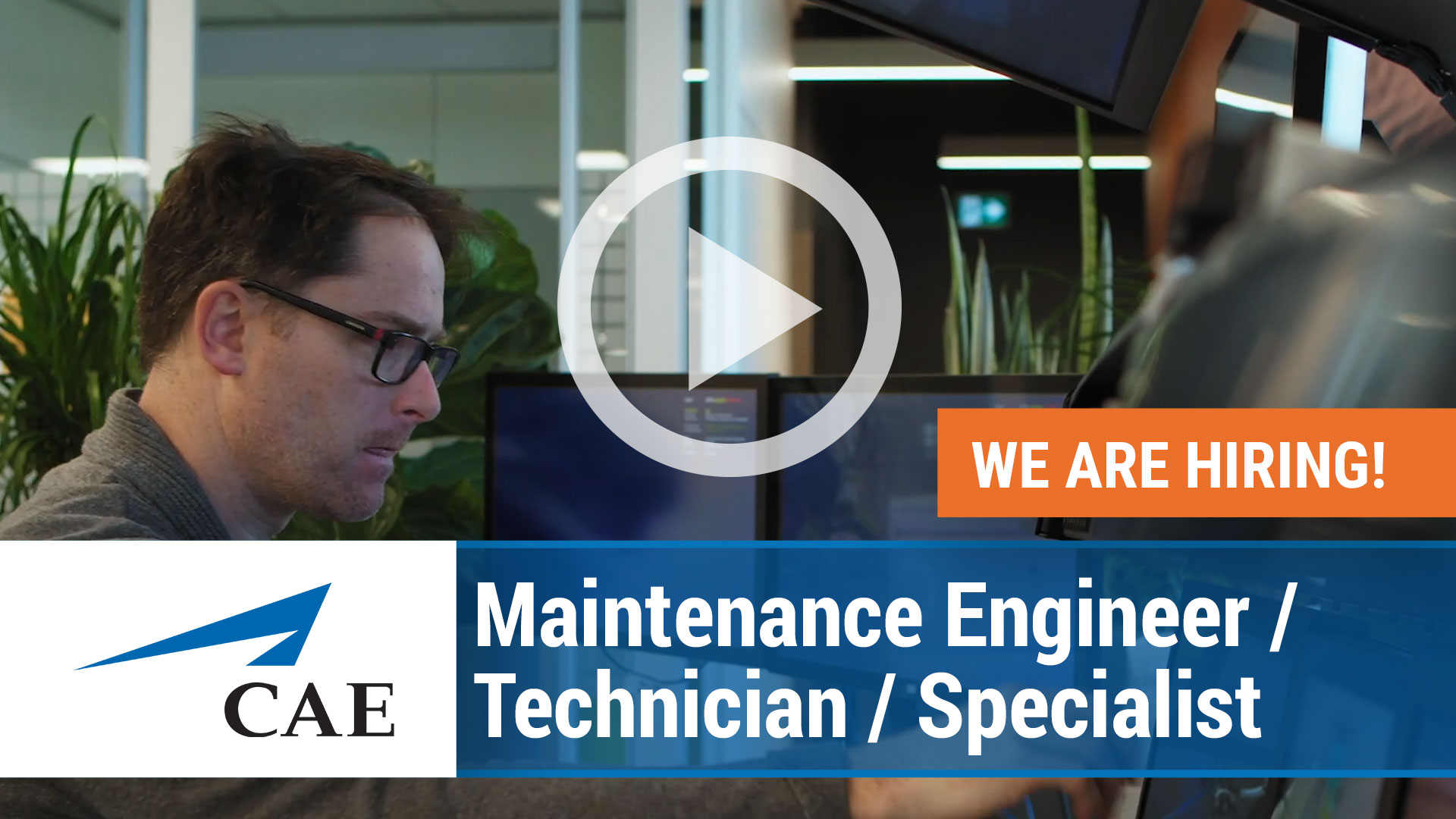 Watch our careers video for available job opening Maintenance Engineer_Technician_Specialist in Varies in Europe