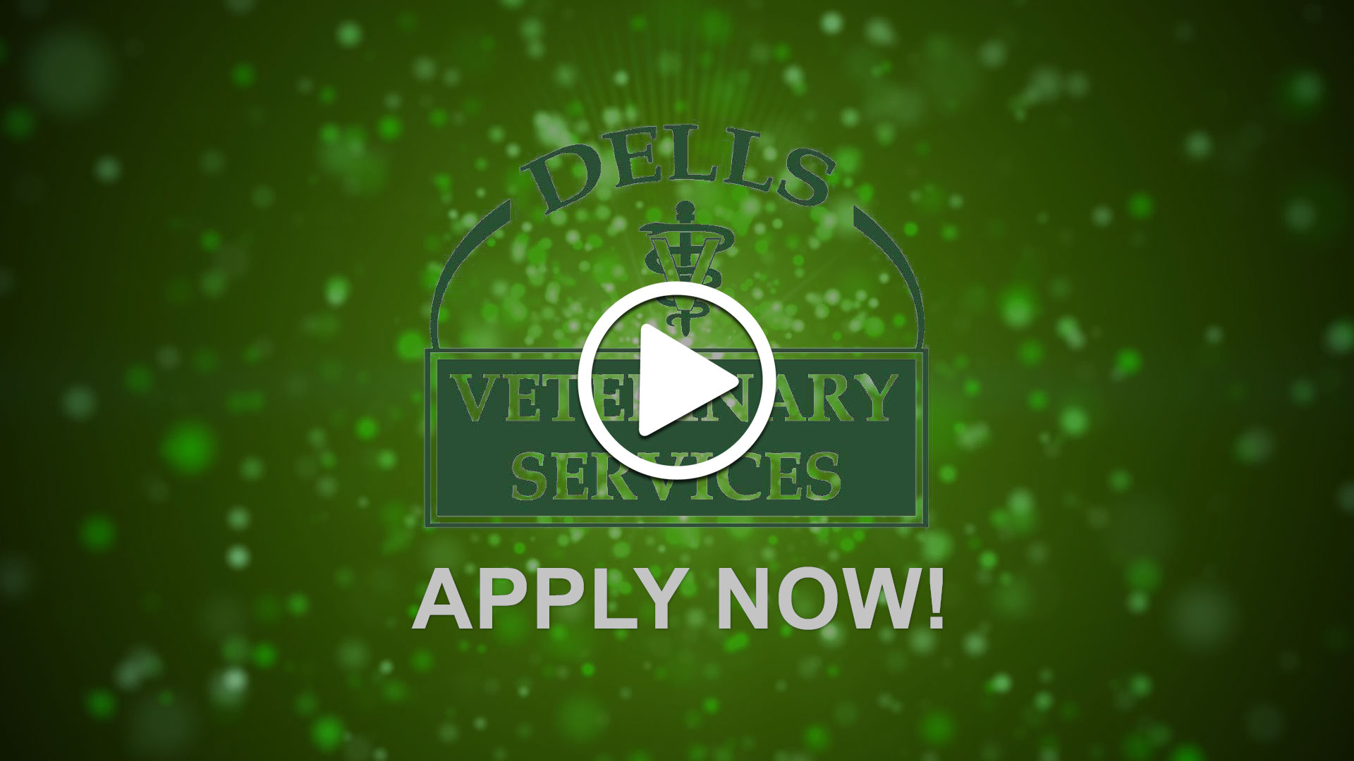 Watch our careers video for available job opening Incredible Veterinary Career in South Dakota! in Dell Rapids, SD, USA