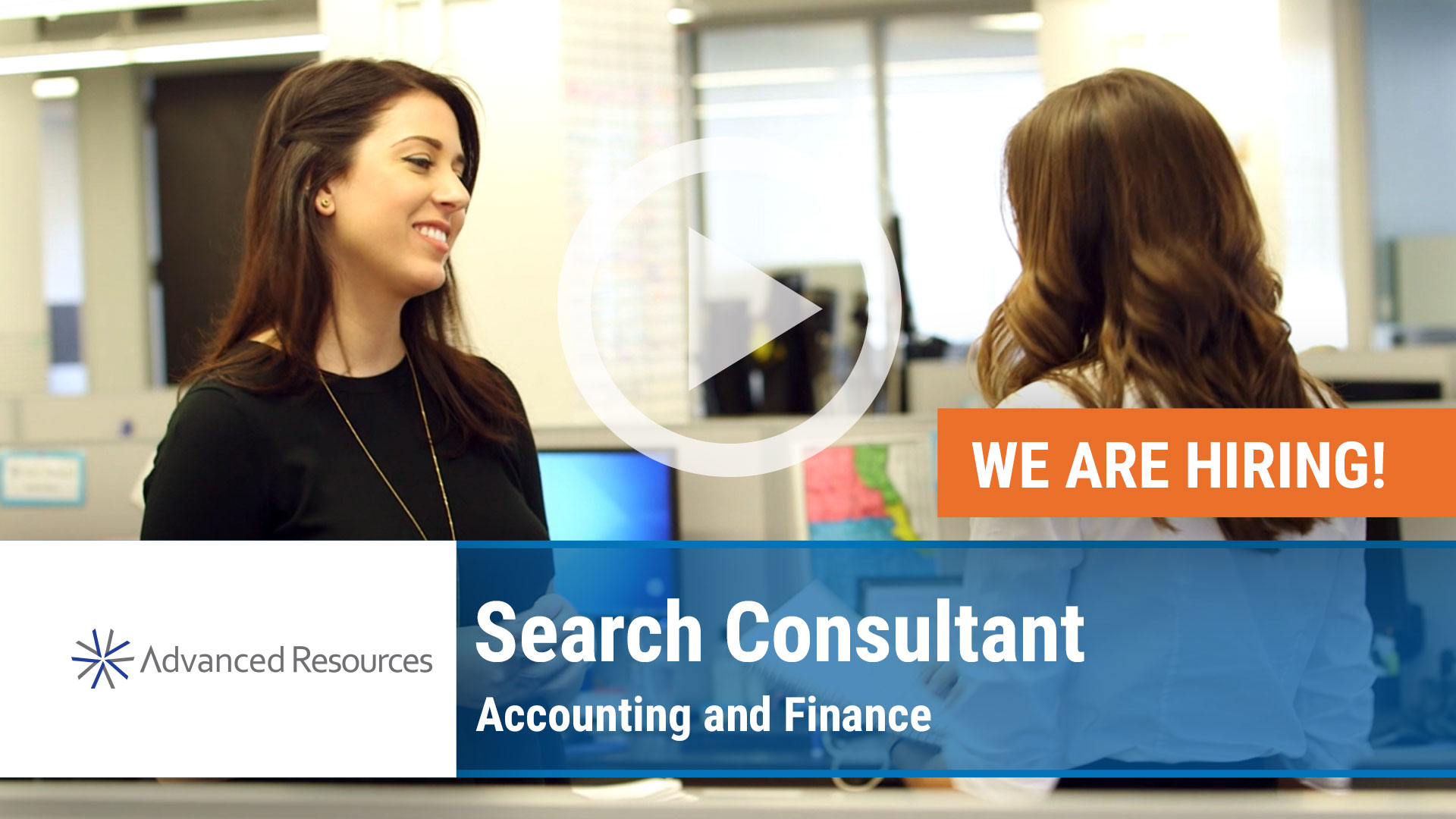Watch our careers video for available job opening Search Consultant for Accounting and Finance in New York, NY