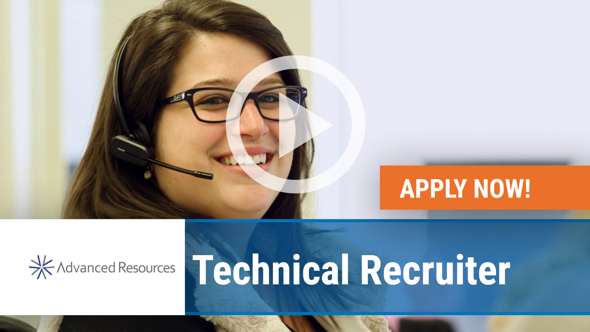 Watch our careers video for available job opening Technical Recruiter in Plano, TX