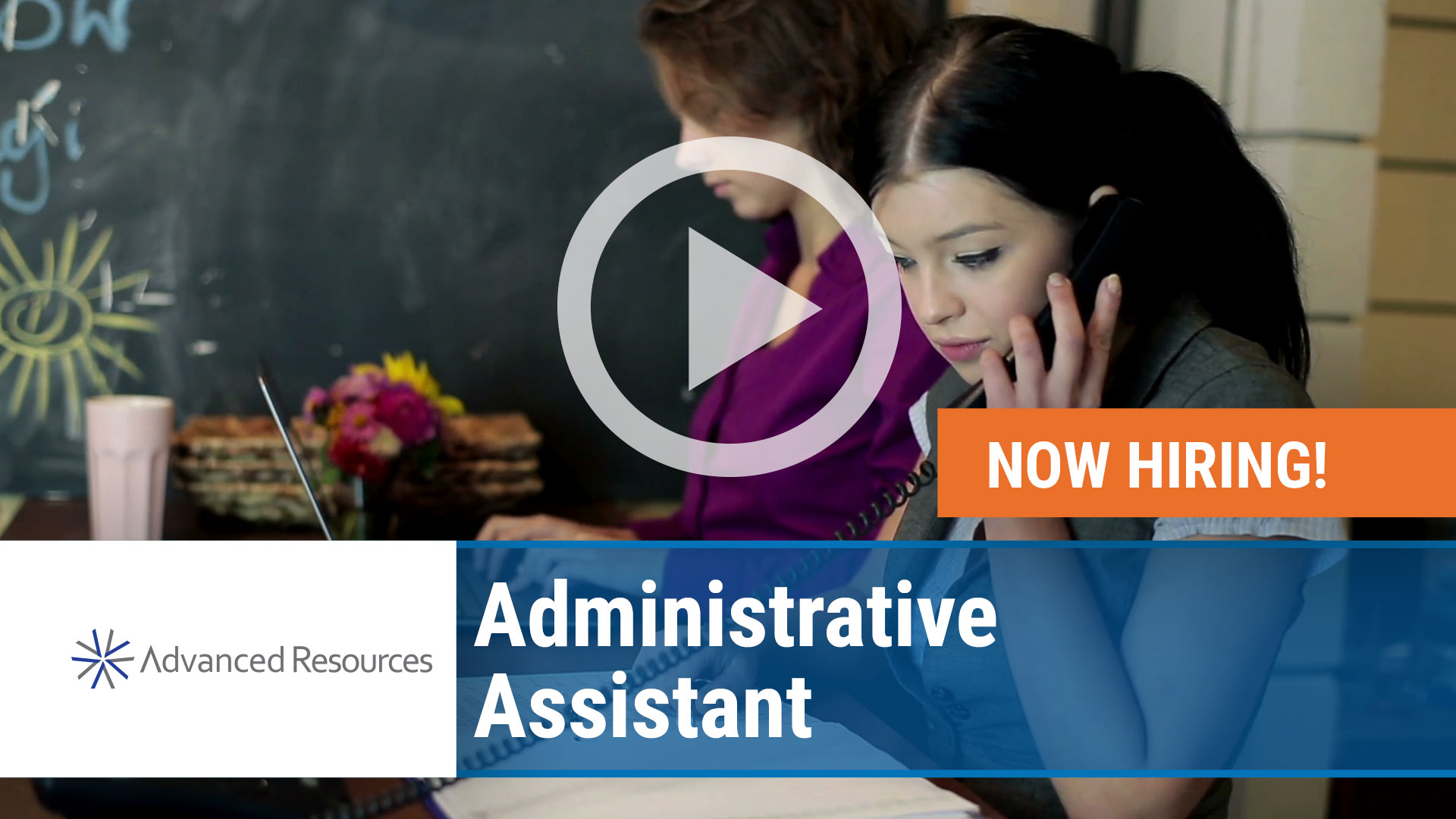 Watch our careers video for available job opening Administrative Assistant in Chicago, IL