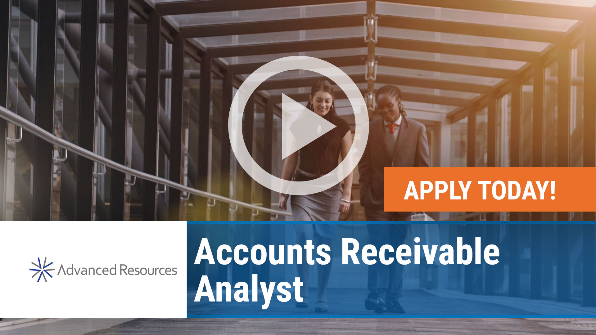 Watch our careers video for available job opening Accounts Receivable Analyst in Chicago, IL