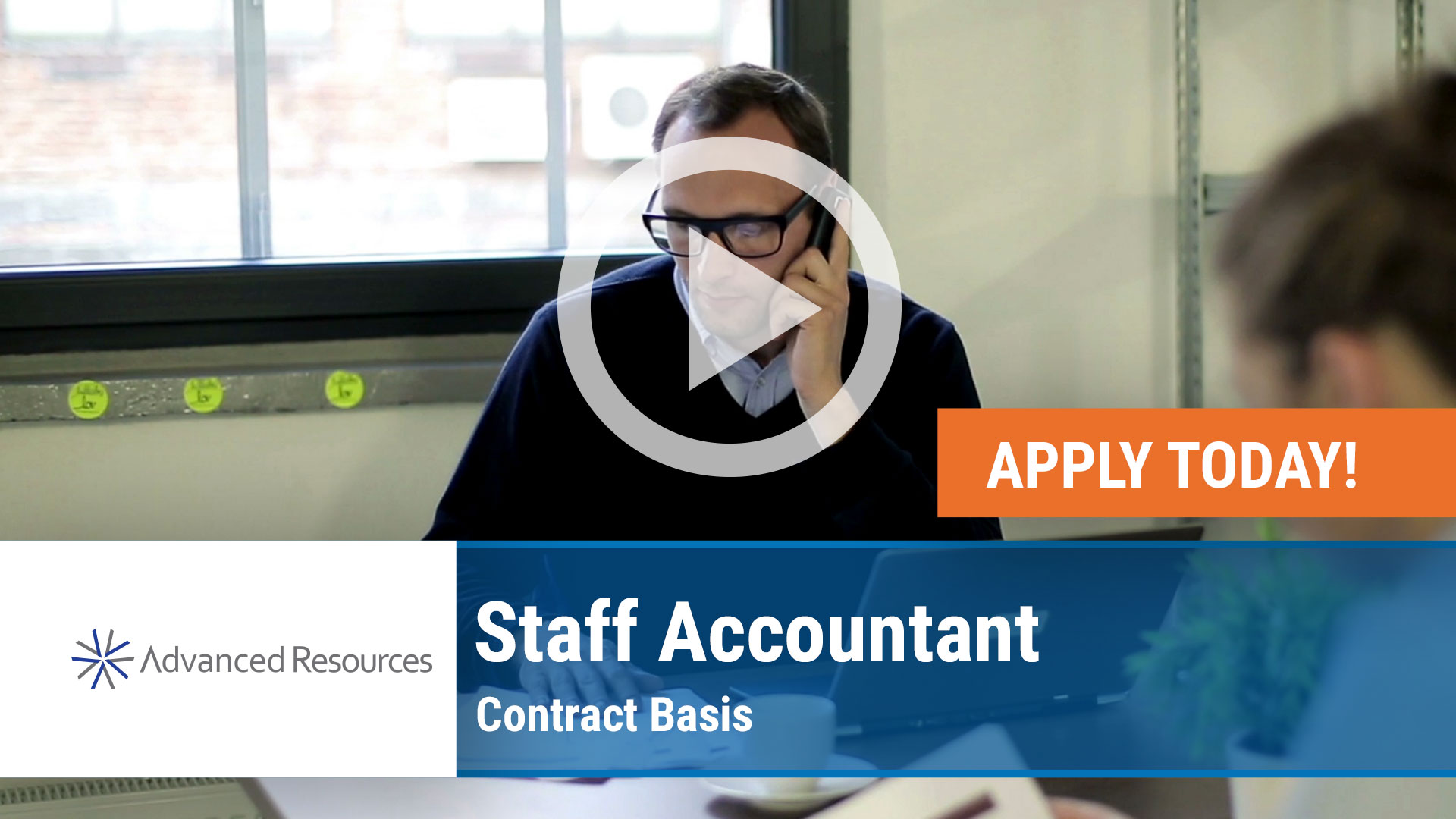 Watch our careers video for available job opening Contract Staff Accountant in Chicago, Illinois