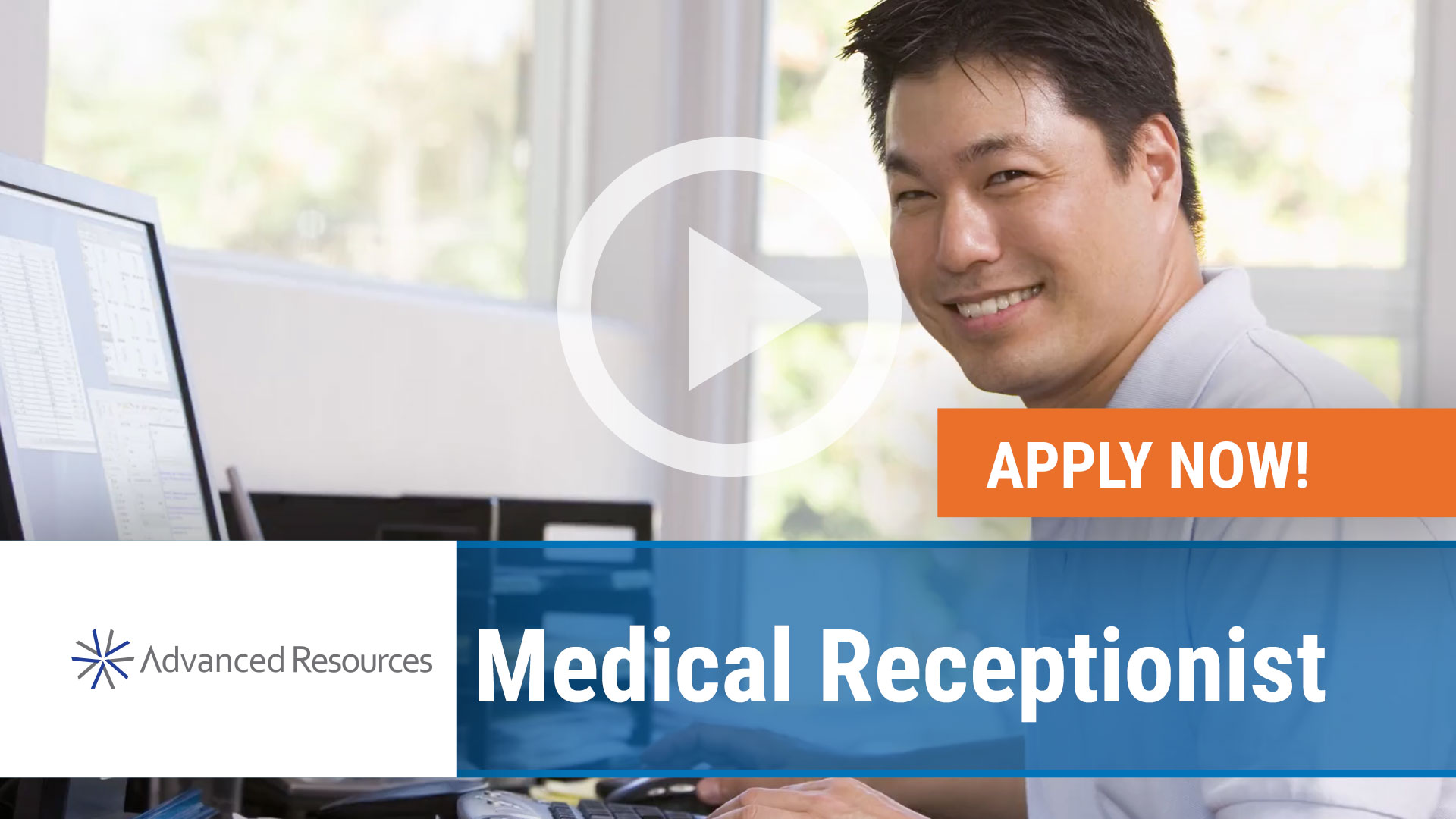 Watch our careers video for available job opening Medical Receptionist in Chicago, Illinois