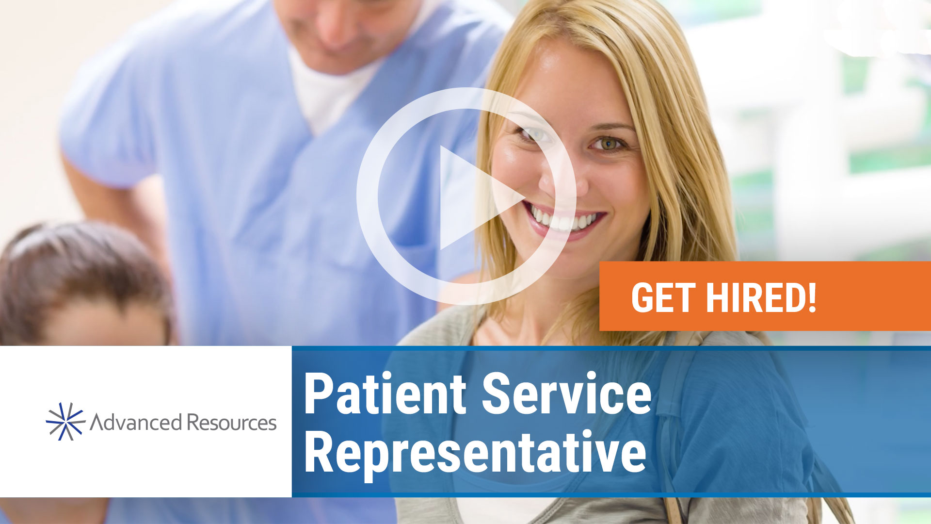 Watch our careers video for available job opening Patient Service Representative in Chicago, Illinois