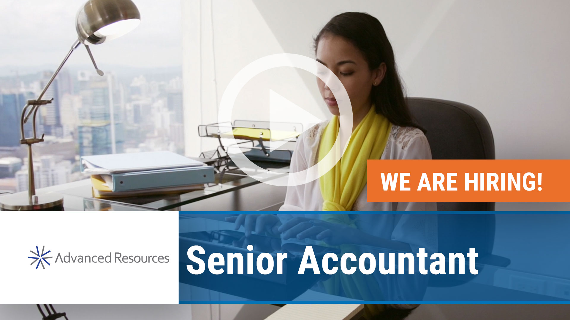 Watch our careers video for available job opening Senior Accountant in Chicago, Illinois