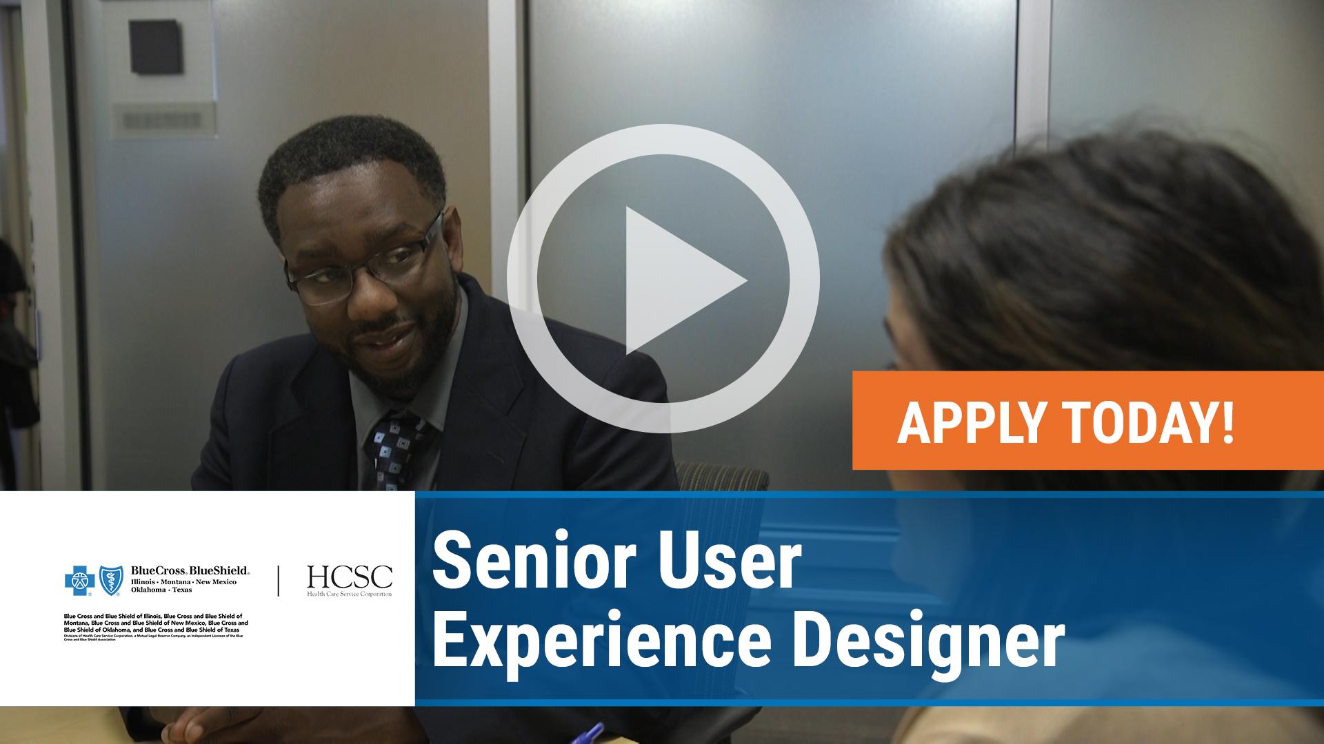 Senior User Experience Designer - Health Care Service ...