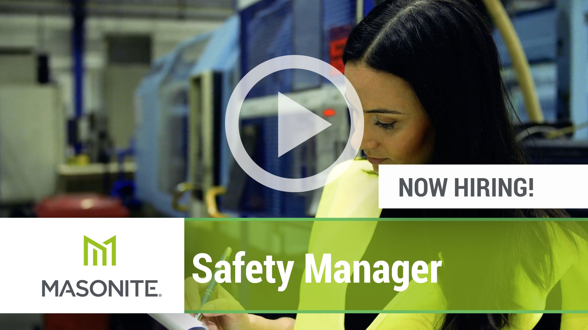 Watch our careers video for available job opening Safety Manager in Varies, Varies.  USA
