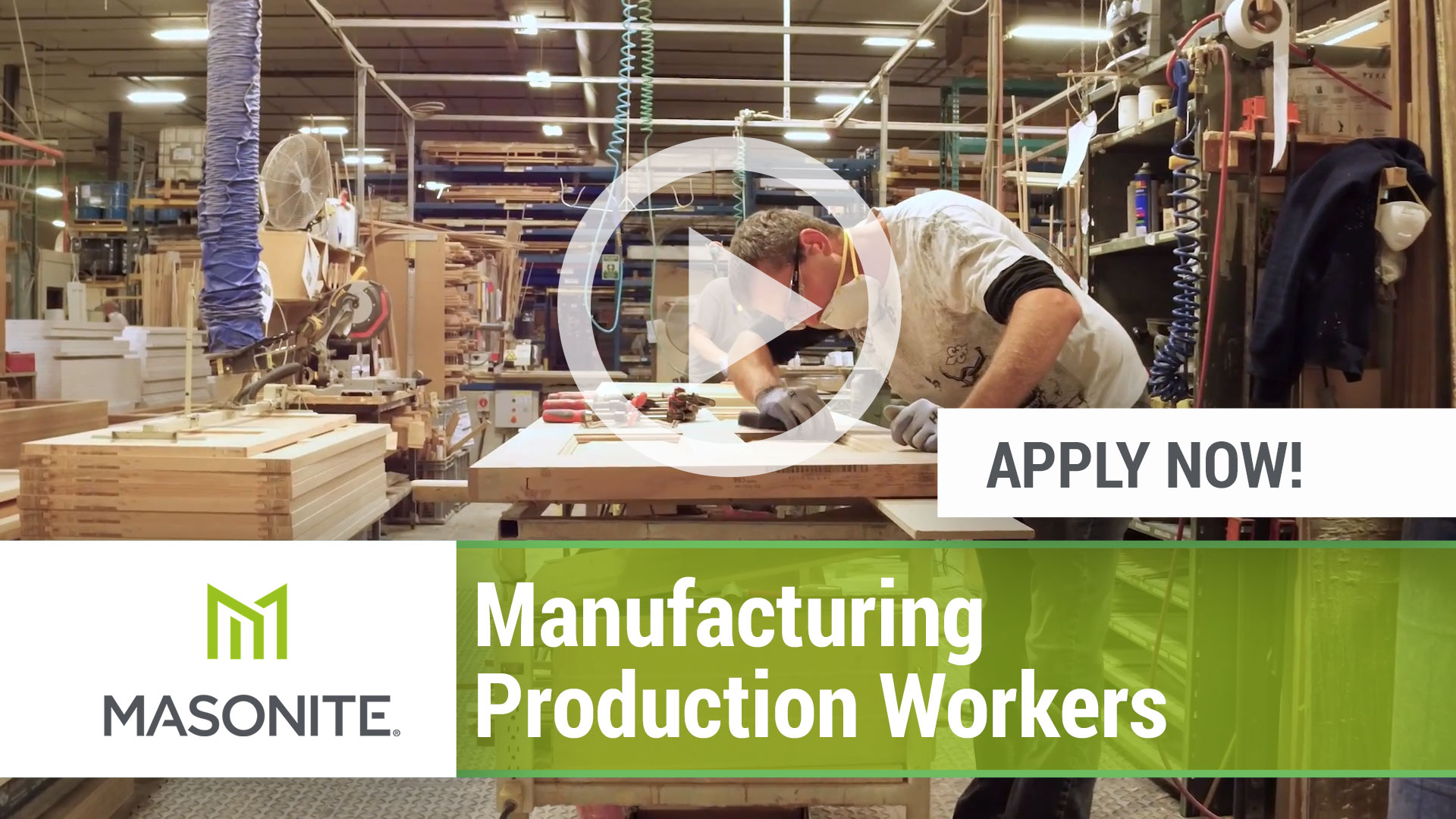 Watch our careers video for available job opening Manufacturing Production Workers in Marshfield, WI.  USA. USA