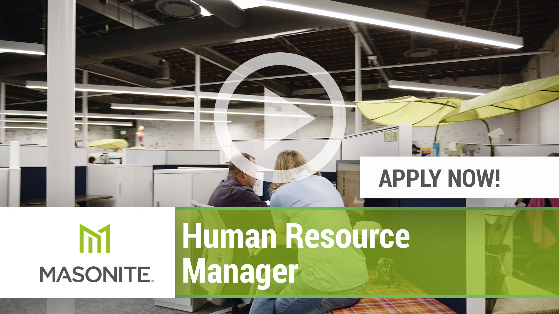 Watch our careers video for available job opening Human Resource Manager in Varies, Varies.  USA