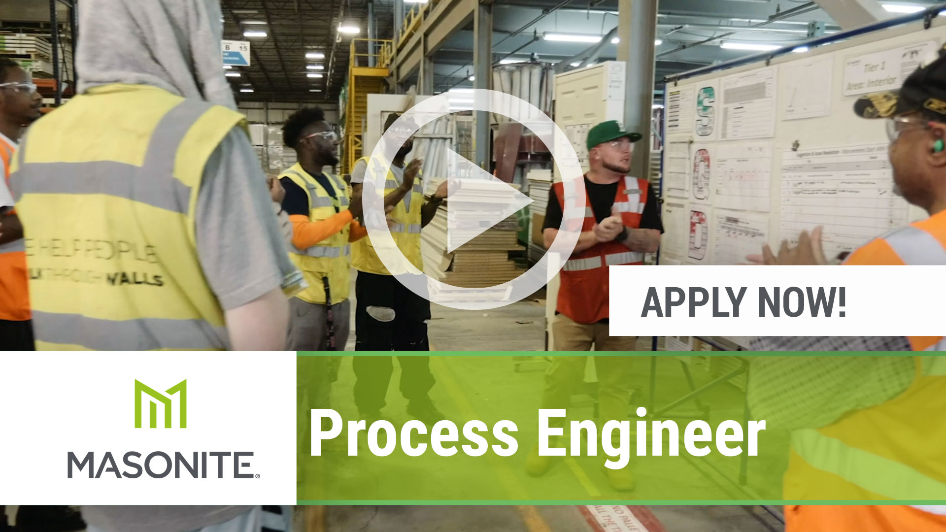 Watch our careers video for available job opening Process Engineer in Northumberland, PA, USA