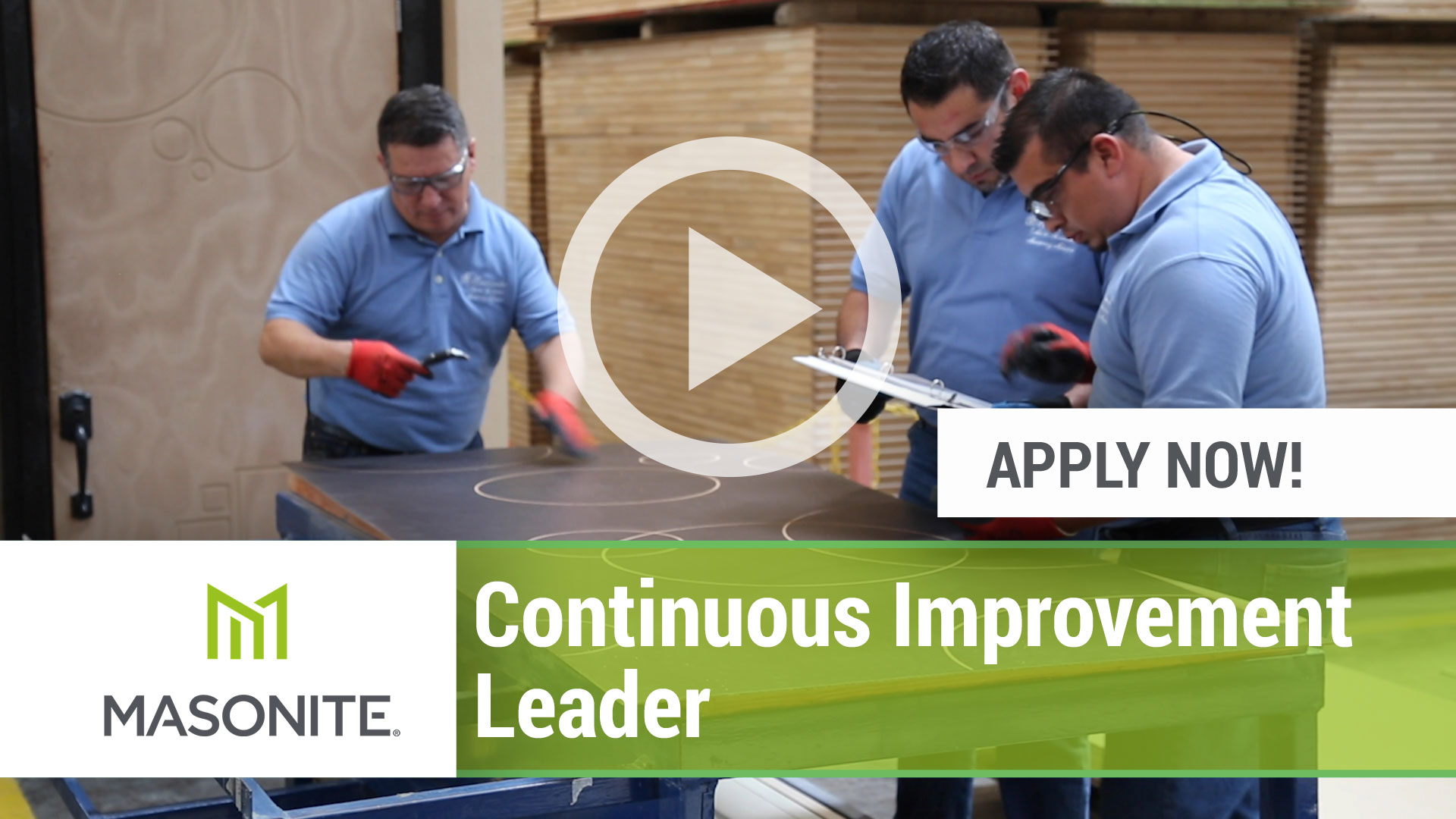 Watch our careers video for available job opening Continuous Improvement Leader in Varies Locations with Heavy T