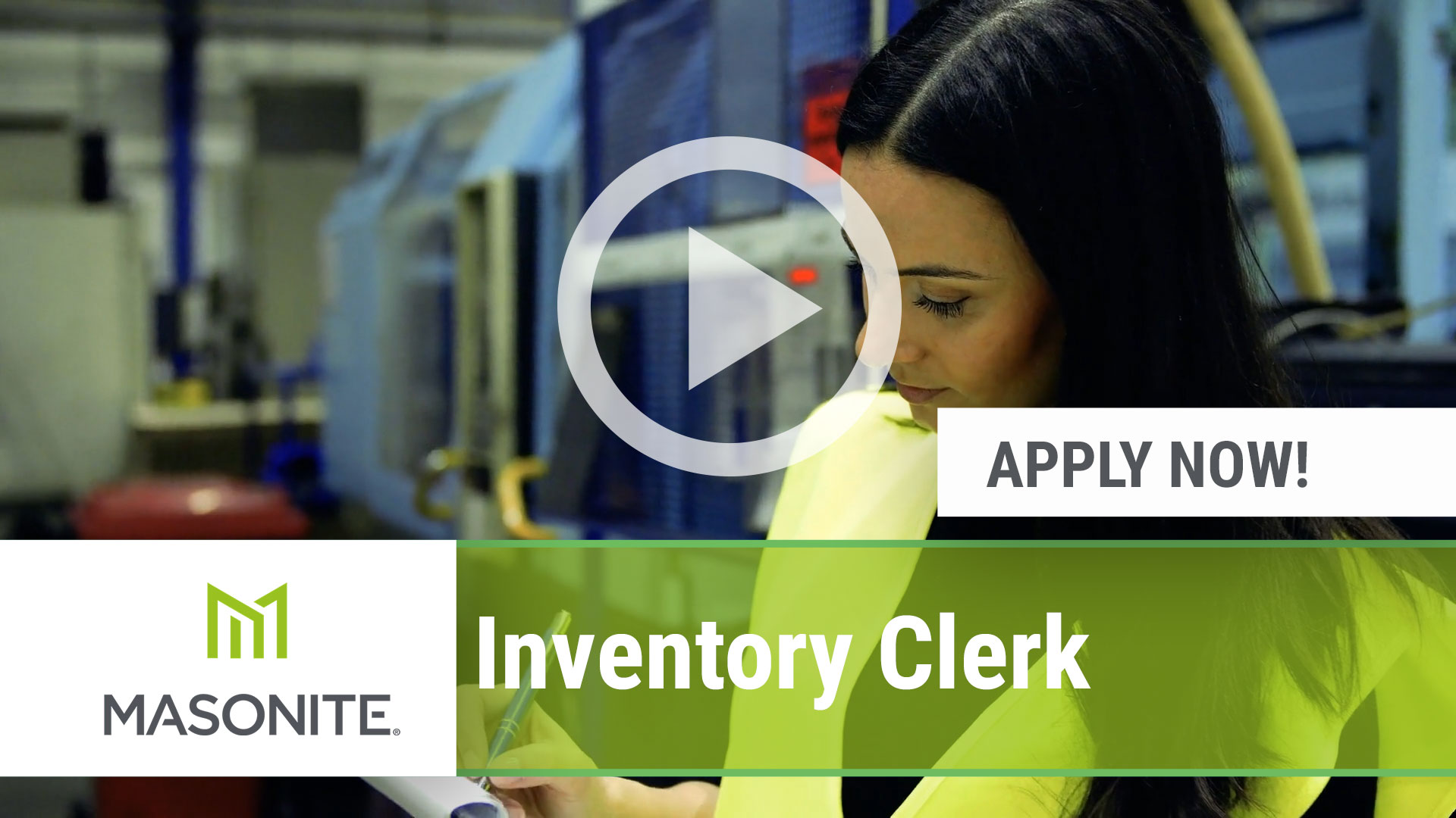 Watch our careers video for available job opening Inventory Clerk in Mesquite, TX, USA