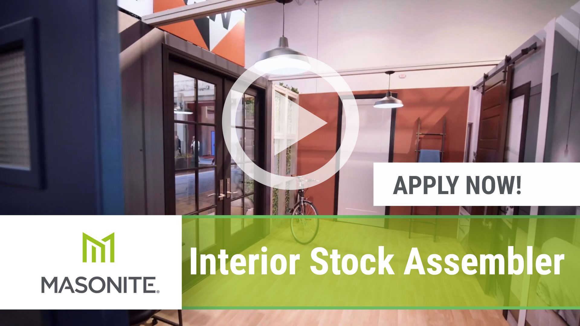 Watch our careers video for available job opening Interior Stock Assembler in Lawrenceville, GA, USA