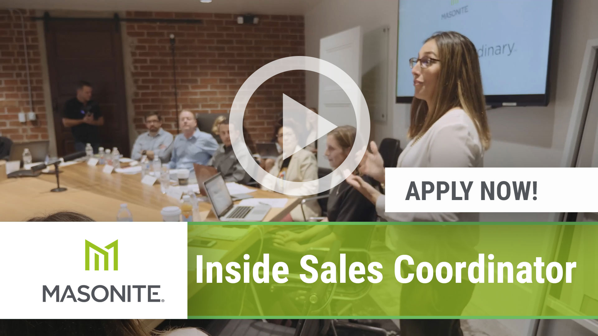Watch our careers video for available job opening Inside Sales Coordinator in Saint-Éphrem-de-Beauce, QC, C