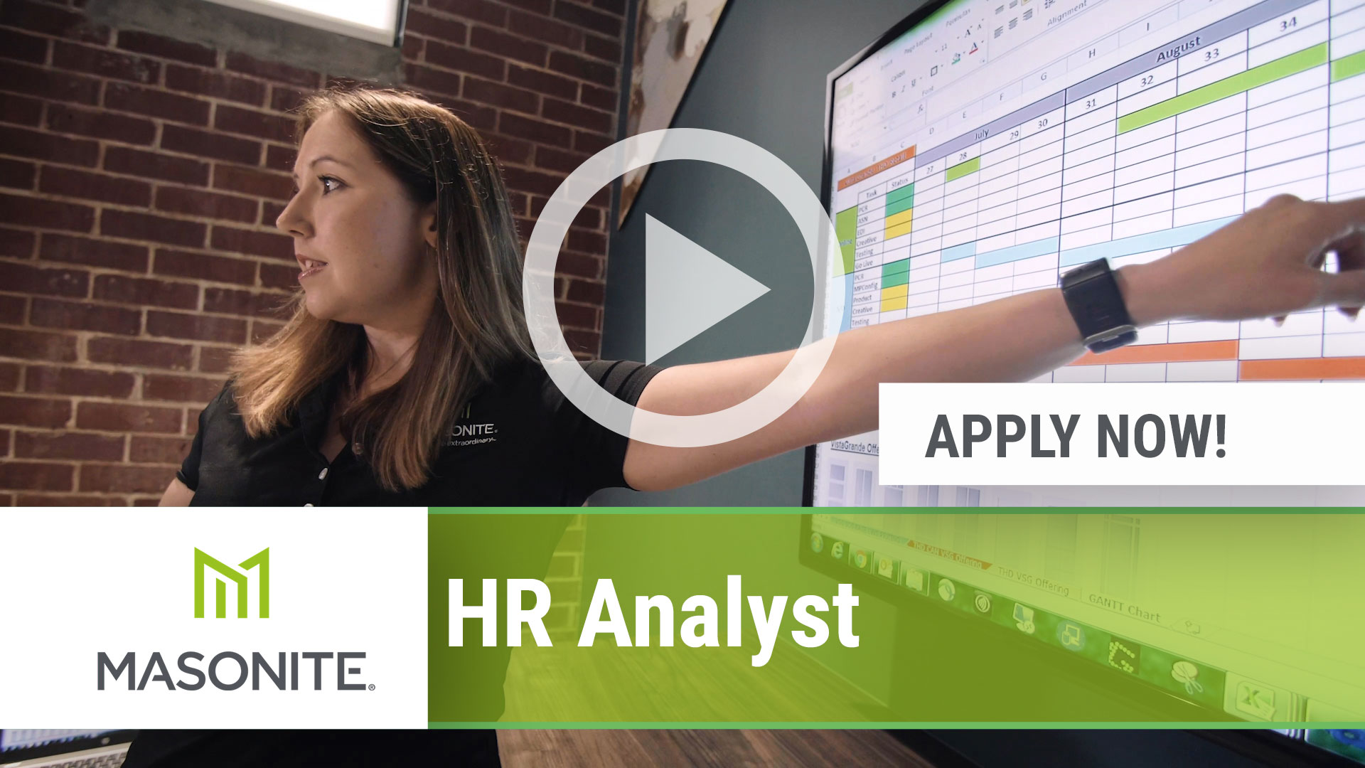 Watch our careers video for available job opening HR Analyst in Tampa, FL, USA