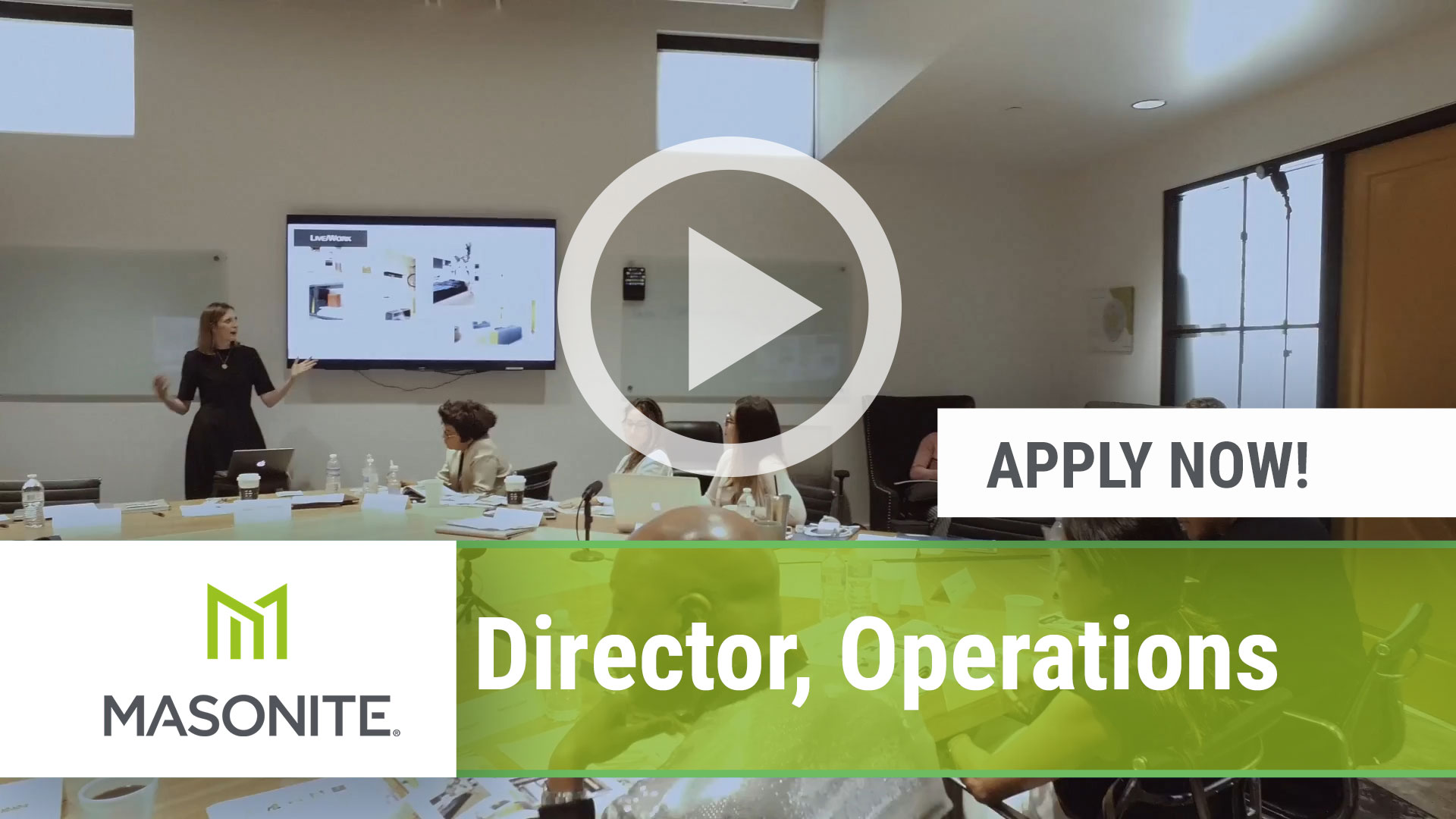 Watch our careers video for available job opening Director, Operations in Tampa, FL, USA