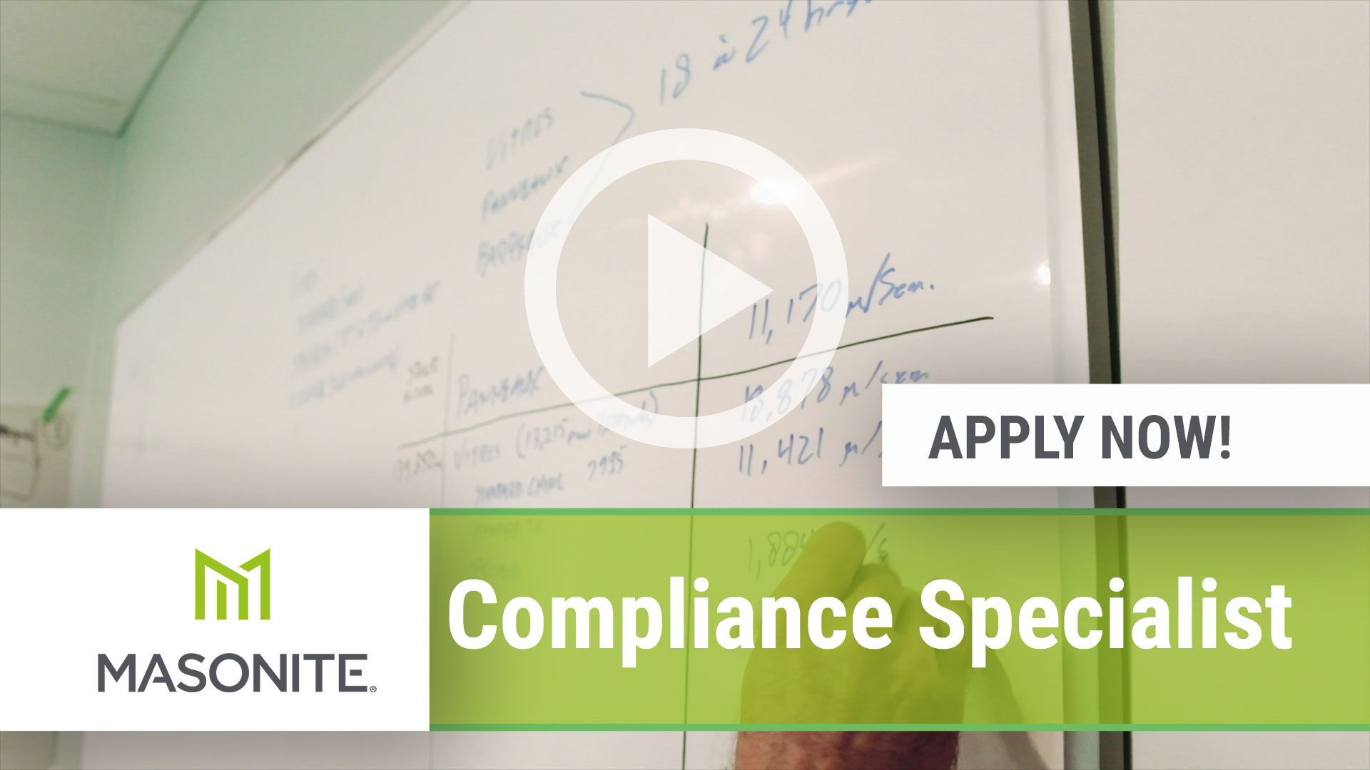 Watch our careers video for available job opening Compliance Specialist in Charlotte, NC, USA
