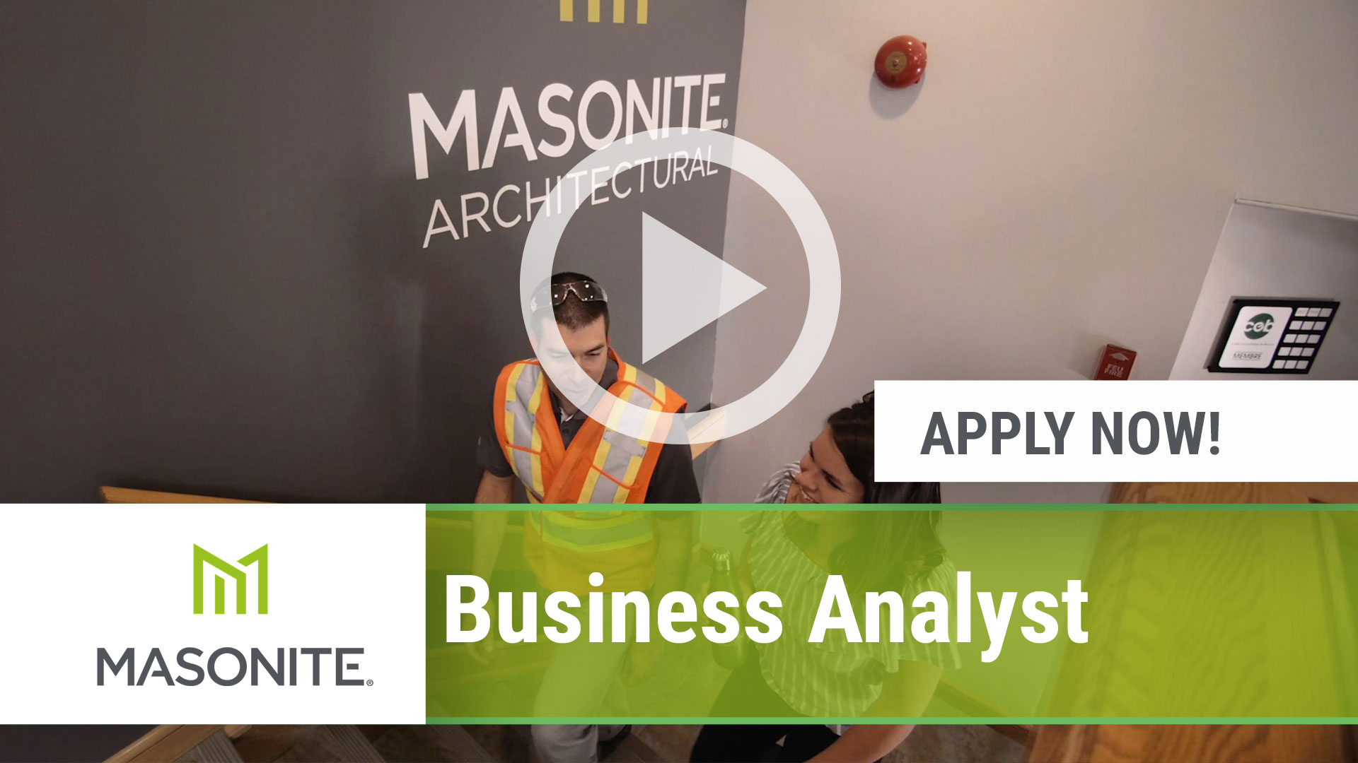 Watch our careers video for available job opening Business Analyst in Northumberland, PA, USA