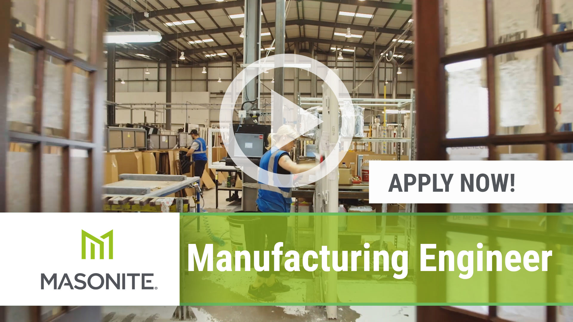 Watch our careers video for available job opening Manufacturing Engineer in Haleyville and Stanley, AL an