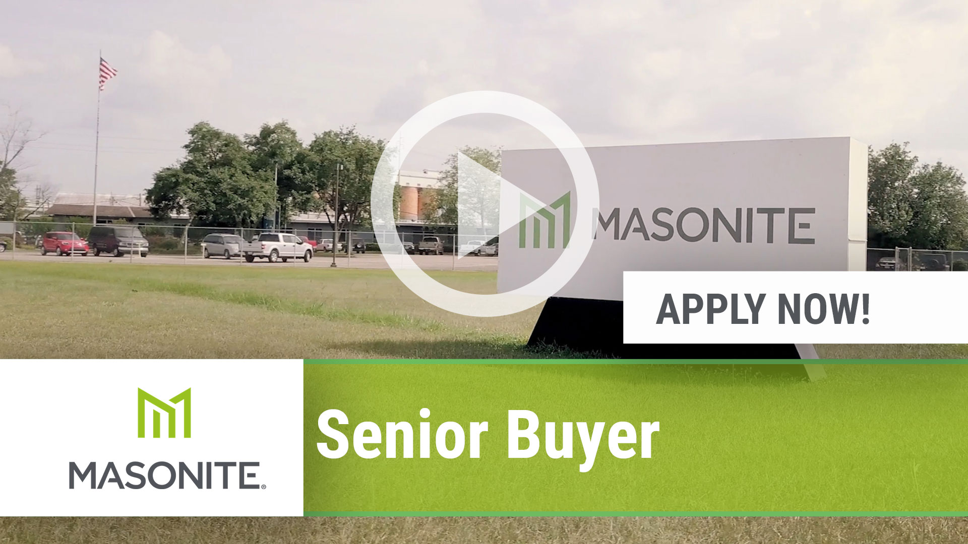 Watch our careers video for available job opening Senior Buyer in Laurel, MS, USA