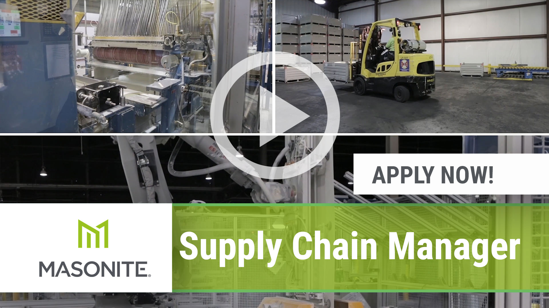 Watch our careers video for available job opening Supply Chain Manager in Northumberland, PA, USA