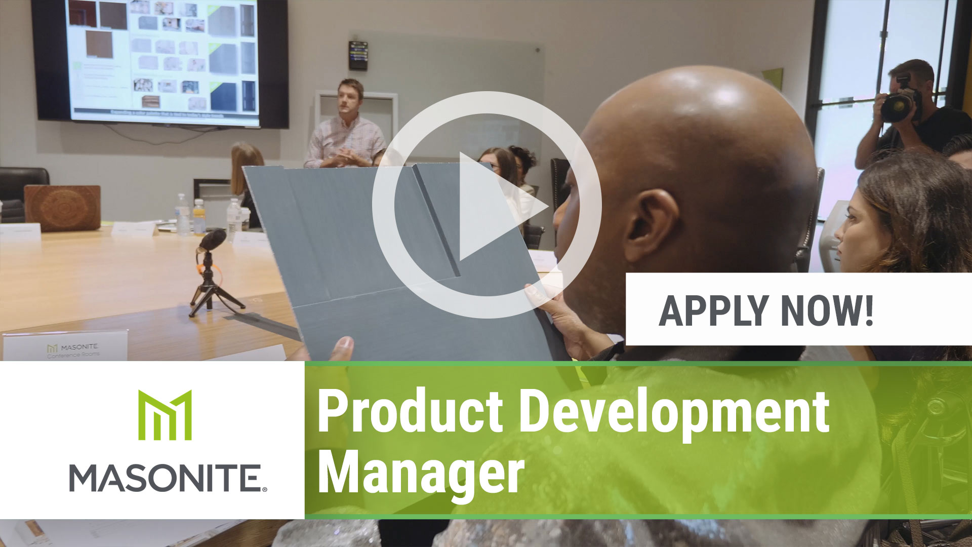 Watch our careers video for available job opening Product Development Manager in West Chicago, IL, USA