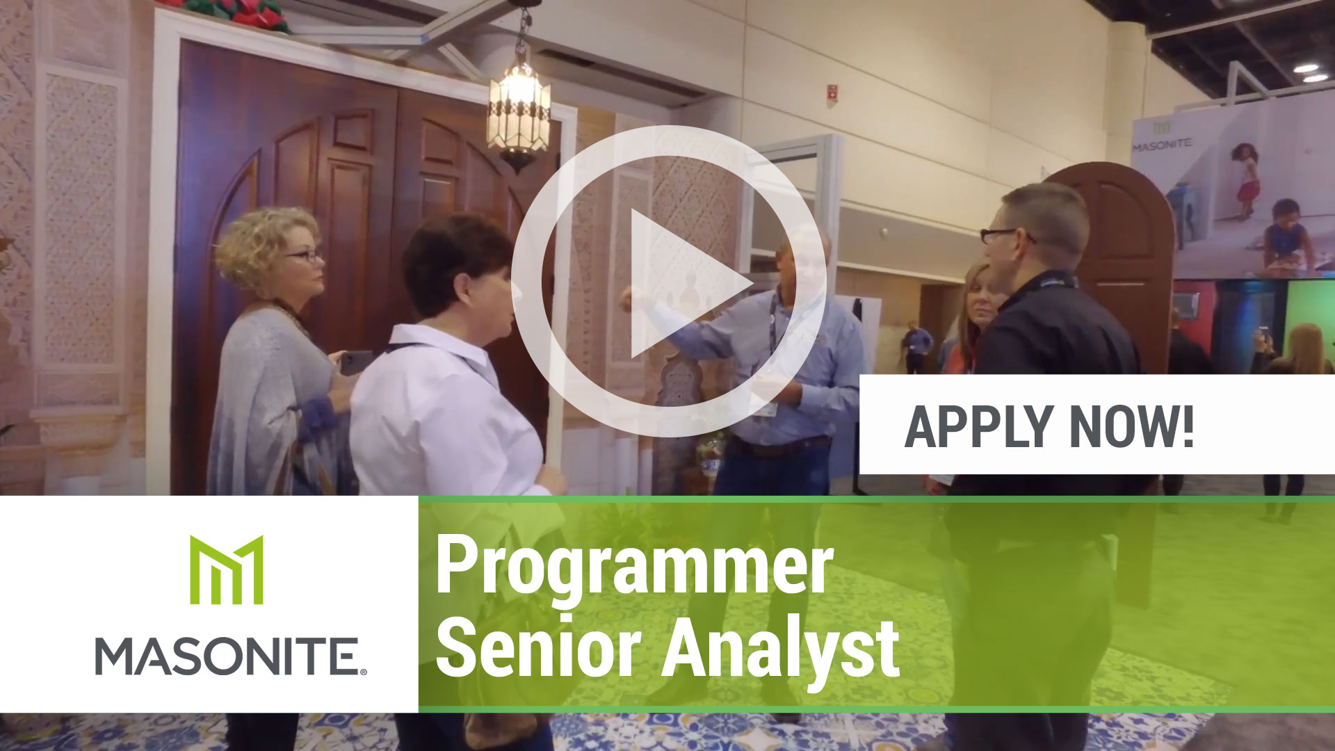 Watch our careers video for available job opening Programmer Senior Analyst in Tampa, FL, USA